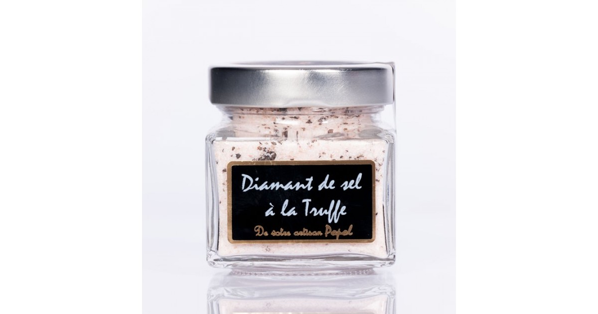 Diamant de sel truffe pot or 250g