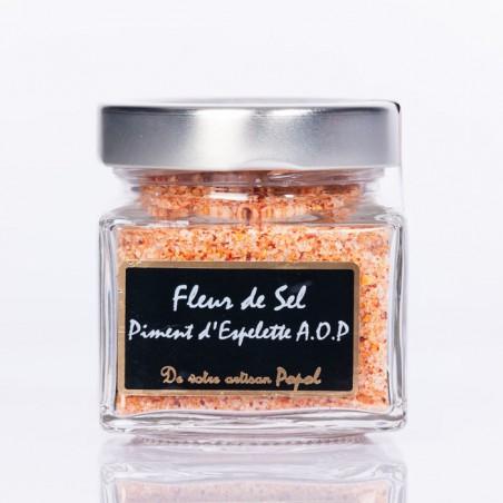 Fleur de sel sel piment d espelette 150g