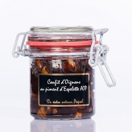 Confit d Oignons Piment d espelette 160g