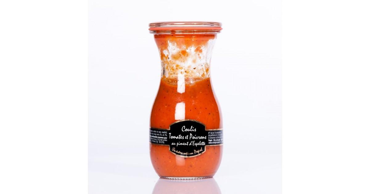 Coulis de Poivron Piment d espelette 250 g