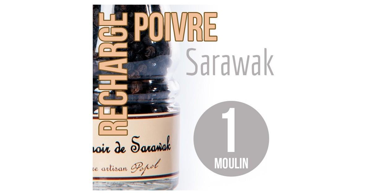 Poivre sarawak recharge pour 1 moulin 100g