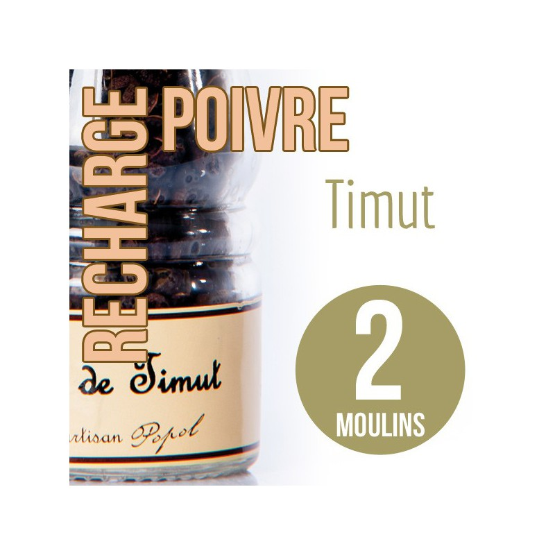Baie timut recharge 2 moulins 60g