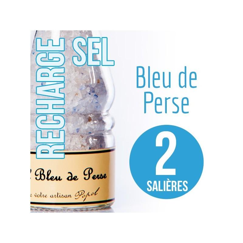 Sel bleu de perse pour 2 salières 220g