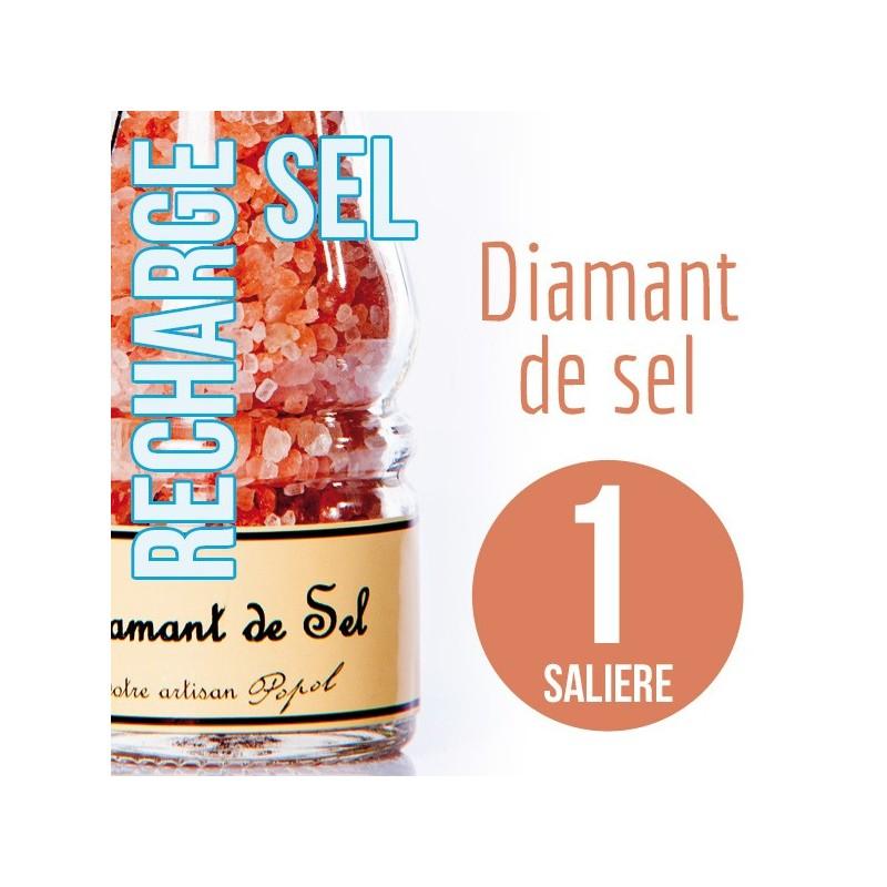 Sel diamant de sel pour 1 salière 115g