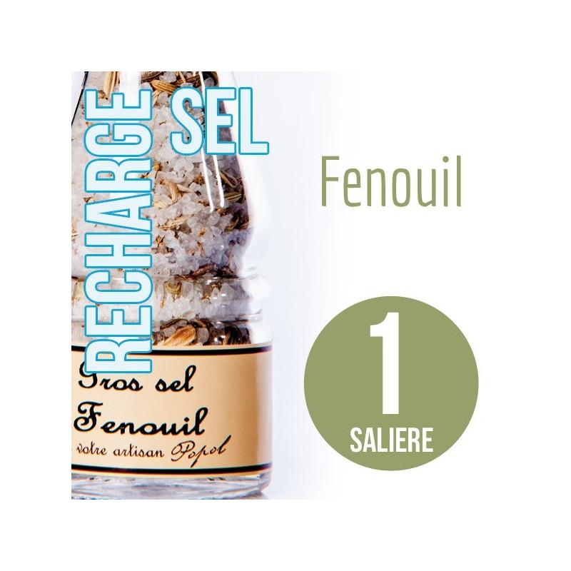 Sel fenouil pour 1 salière 95g