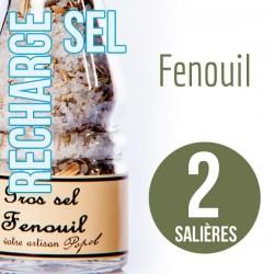 Sel fenouil pour 2 salières 190g