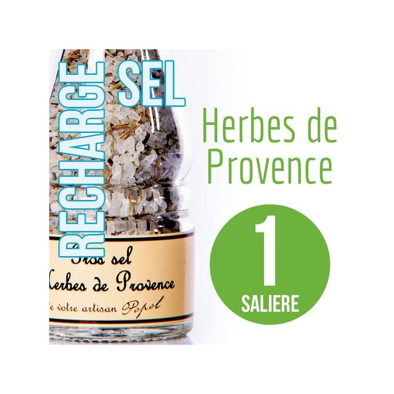 Sel herbe de provence pour 1 salière 100g