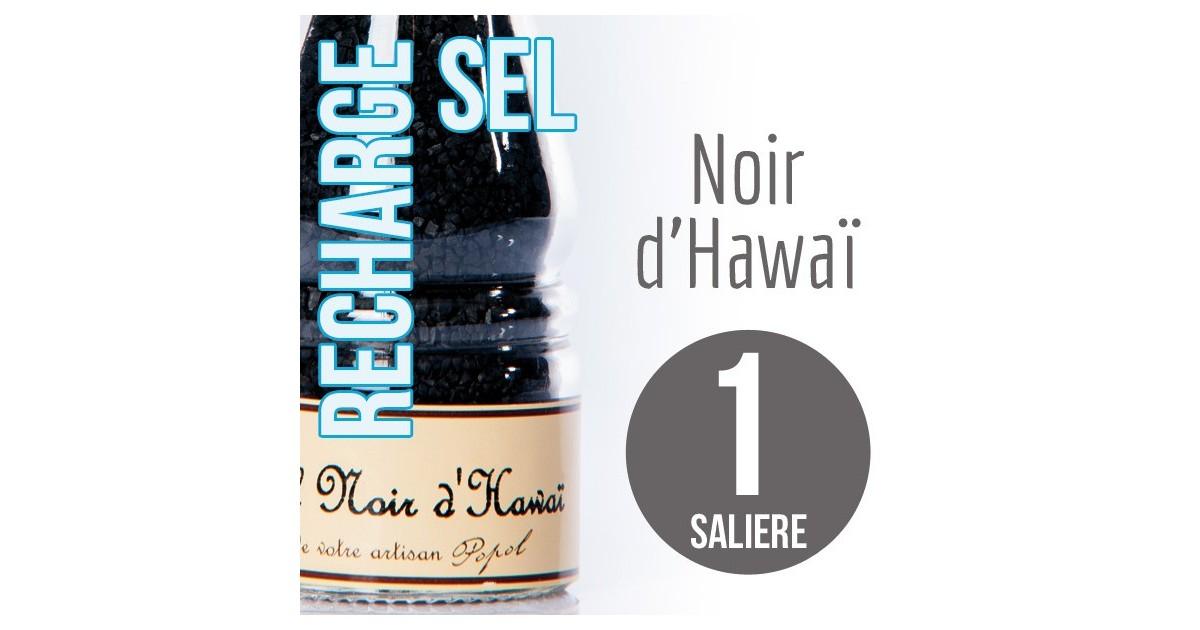 Sel noir d hawai pour 1 salière 120g
