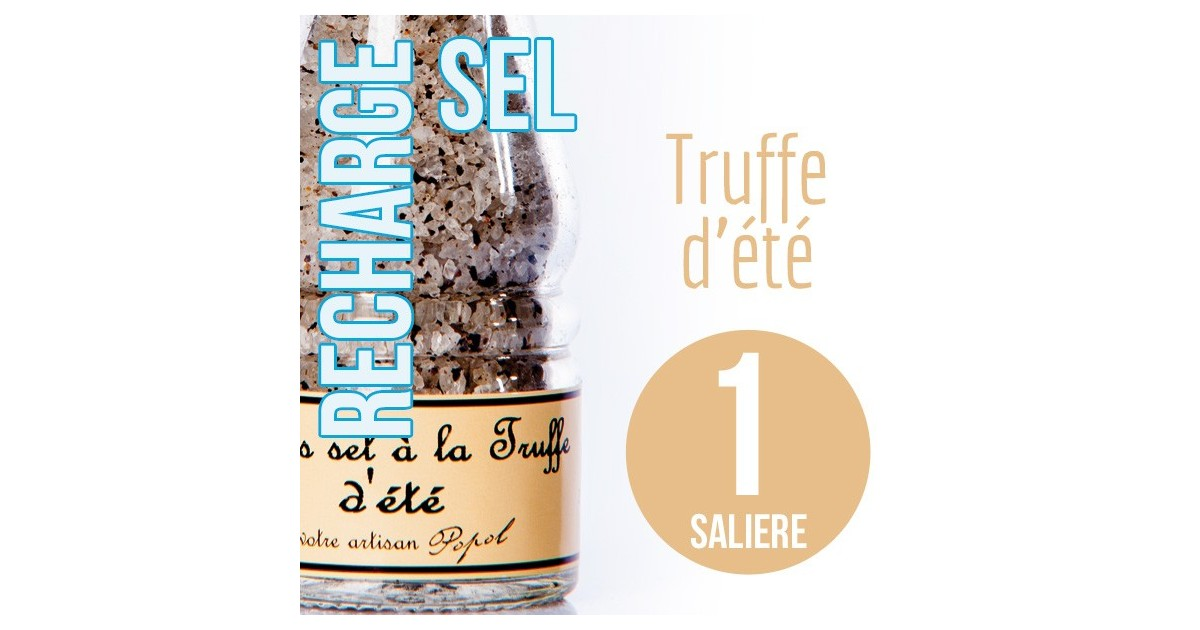 Sel truffe pour 1 salière 110g