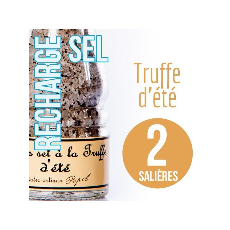 Sel truffe pour 2 salières 220g