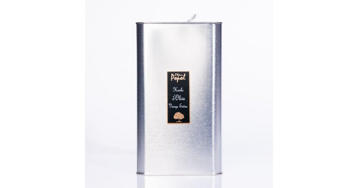 Bidon huile 500 ml rectangulaire