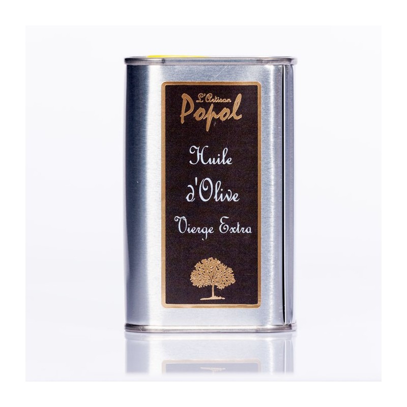 Bidon huile 250 ml rectangulaire