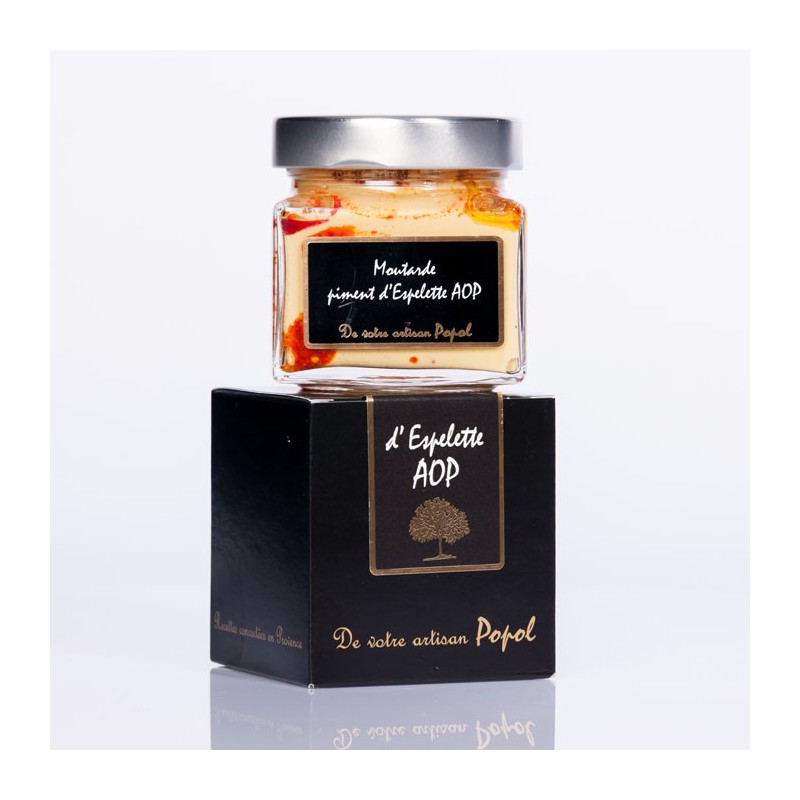 Moutarde au piment 200g
