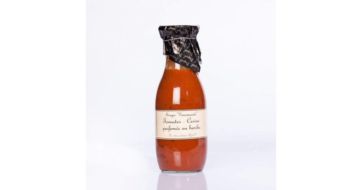 Soupe Tomate cerise parfumée au basilic 950ml