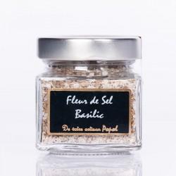 Fleur de sel au basilic 150g