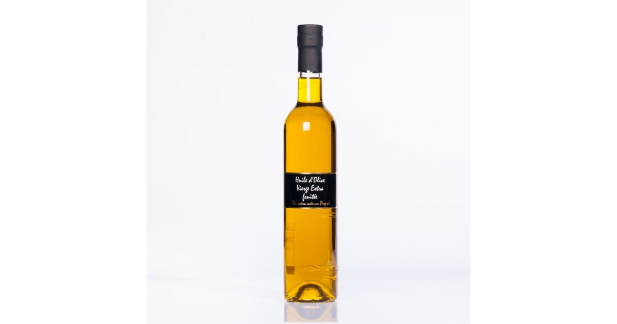 Huile d olive vierge extra fruitée 500 ml