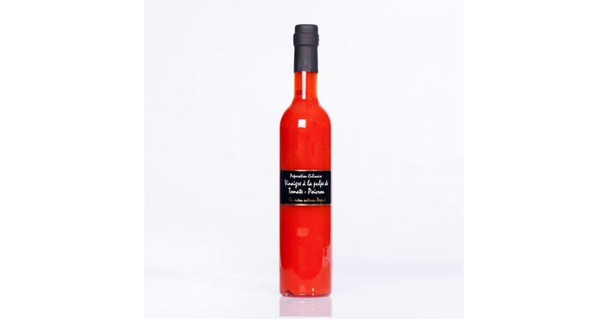 Préparation culinaire Vinaigre 500ml Poivron Rouge