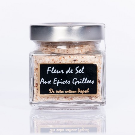 Fleurs de sel aux épices grillées 200g