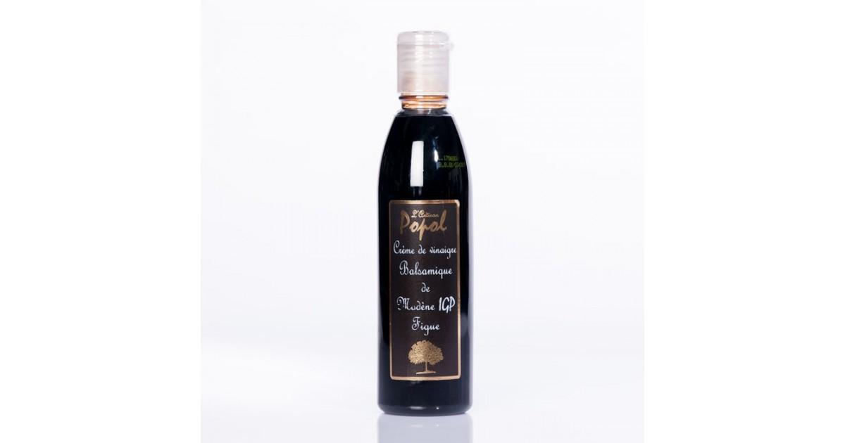 Vinaigre crème balsamique figue PET 250ml