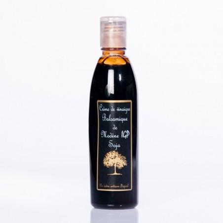 Vinaigre crème balsamique soja PET 250ml