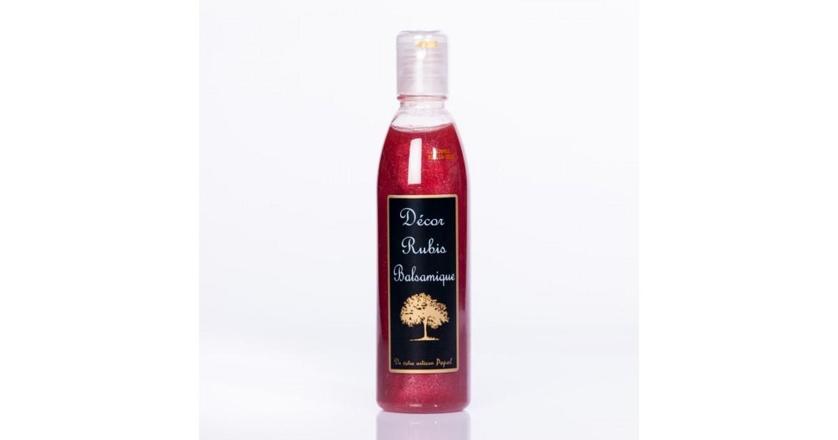 Vinaigre crème balsamique Ruby PET 250ml