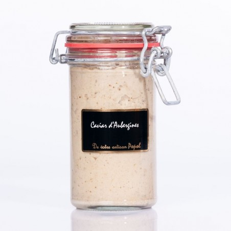 Compotée Caviar Aubergines 220g