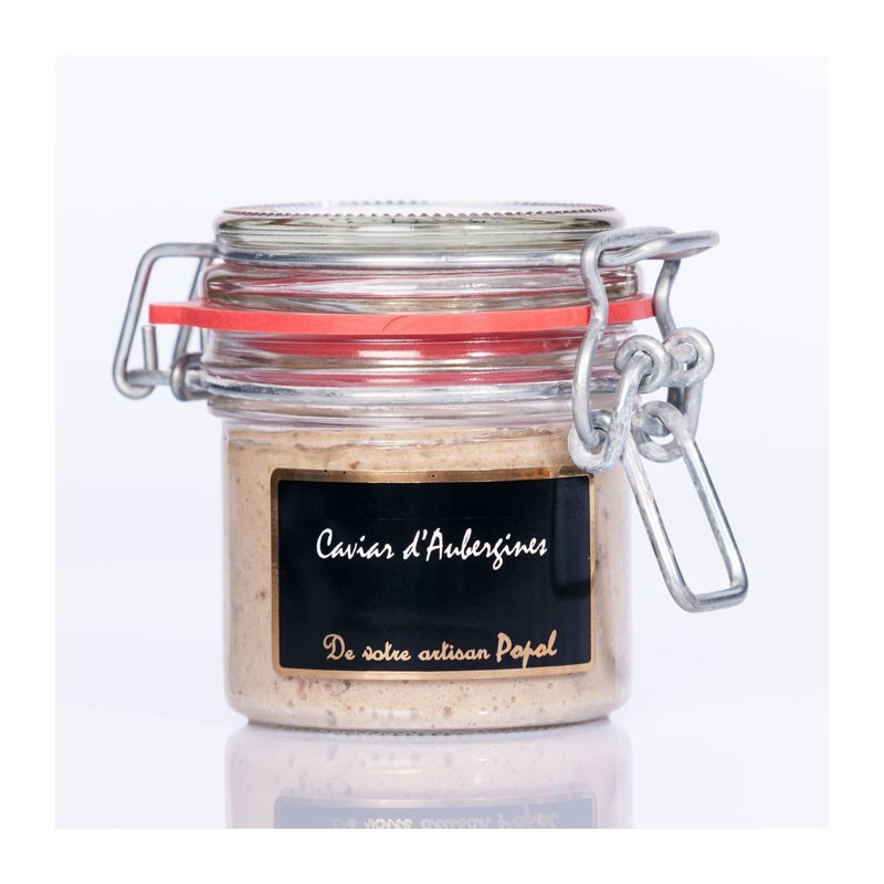 Compotée  Caviar Aubergines 90g