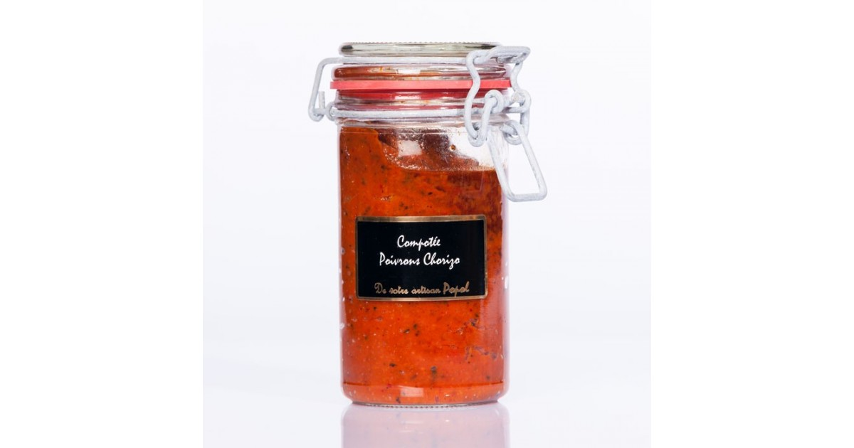 Compotée de poivron au chorizo 190 g
