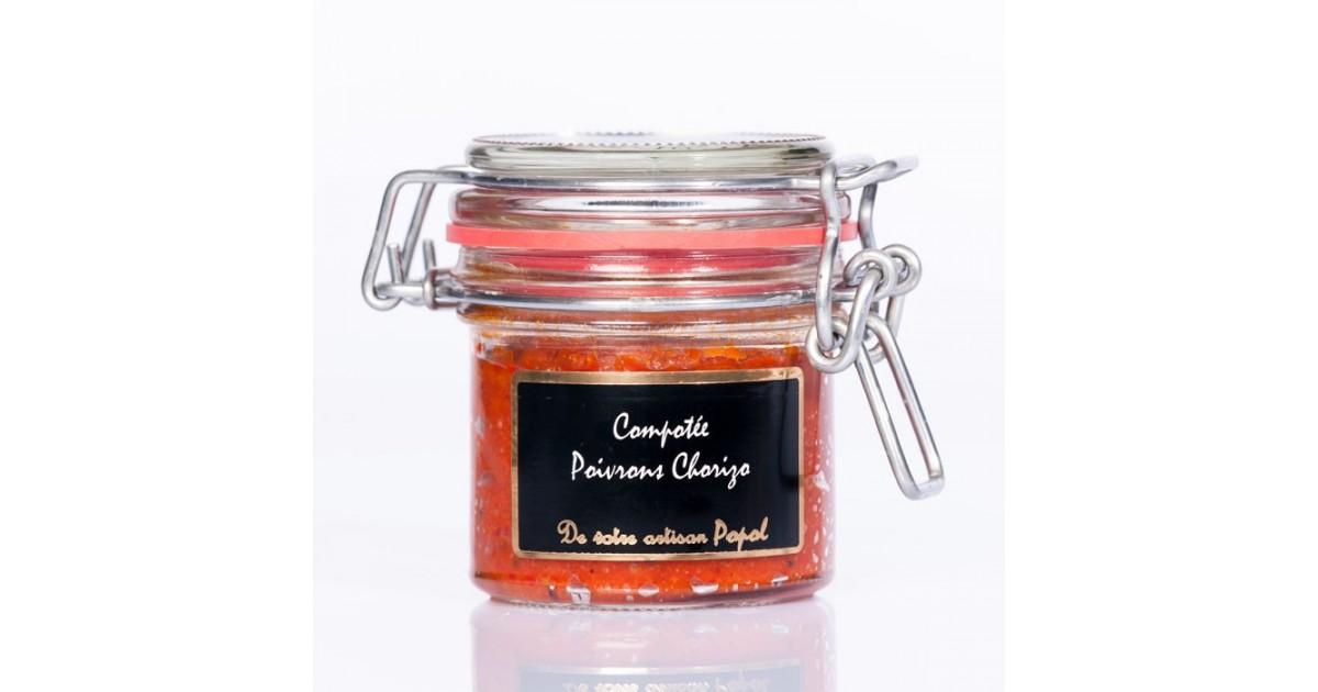 Compotée   Poivrons Chorizo 90 g