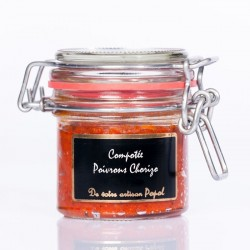 Compotée 90grms Poivrons Chorizo