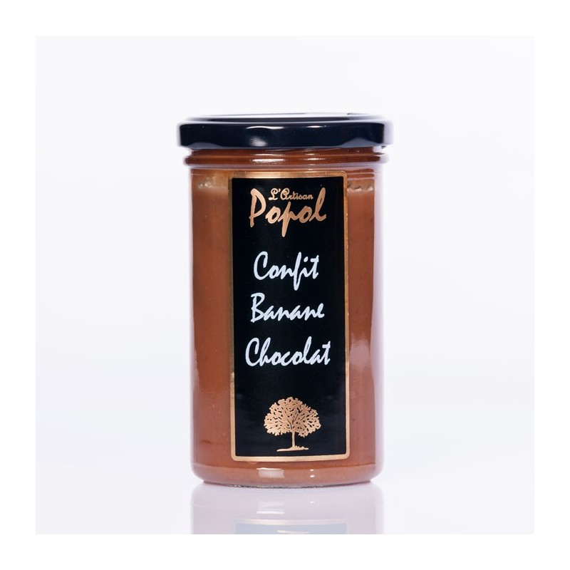 Confiture  flash banane chocolat 300g