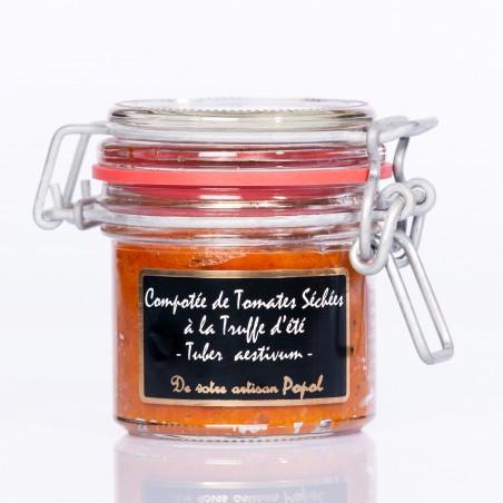 Compotée Tomates Truffes  d été (tuber aestivum) 90g
