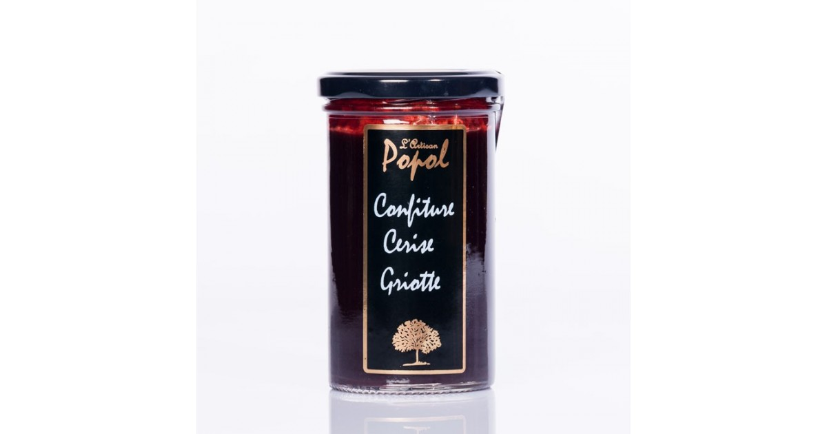 Confiture flash  cerise-griotte 340 g