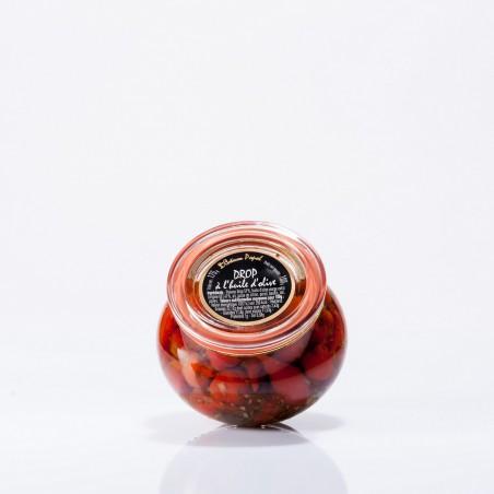drop poivron à l'huile