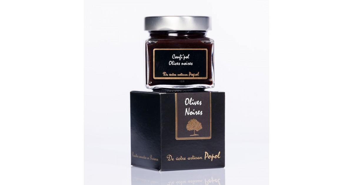 Confi  pol Olive noire 225g