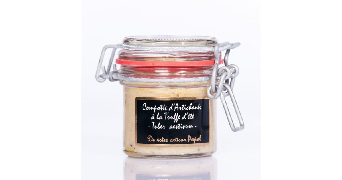 Compotée Artichauts Truffes d été (tuber aestivum)  90g