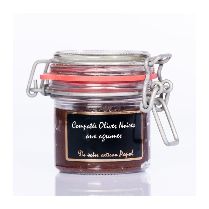 Compotée Olives noire  Agrumes 90g