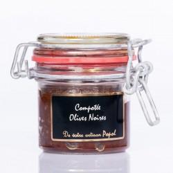 Compotée Olives Noires 90g