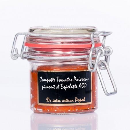 Compotée Poivron Piment d espelette  90g