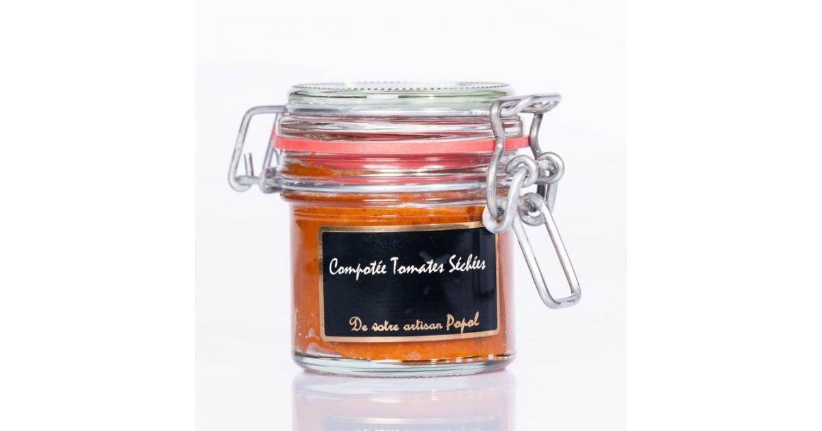 Compotée Tomates Séchées 90g