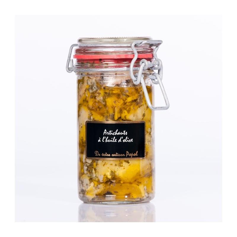 Artichauts à l huile d olive 180g