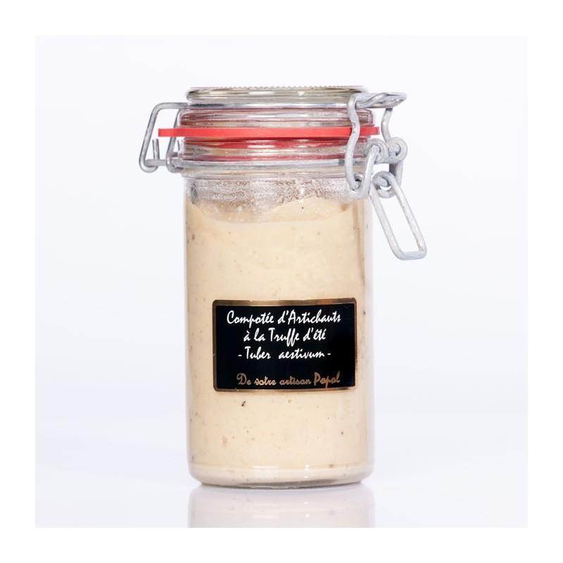 Compotée Artichauts Truffes d été (tuber aestivum) 220g