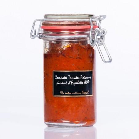 Compotée Poivron Piment  d espelette 240g