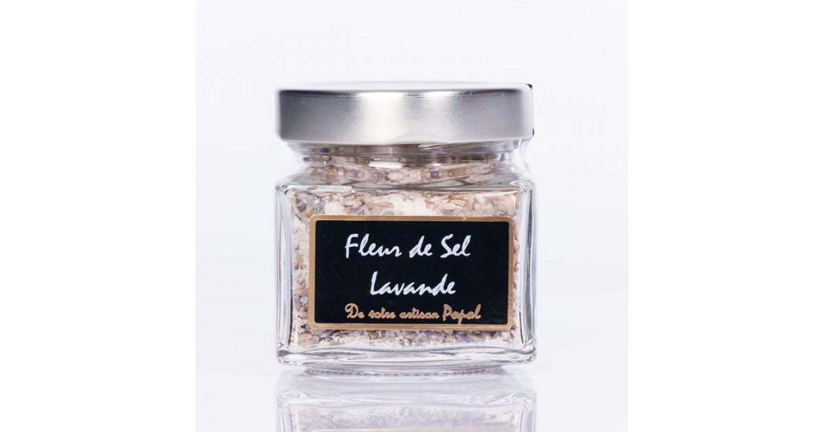 Fleur de sel lavande 130g
