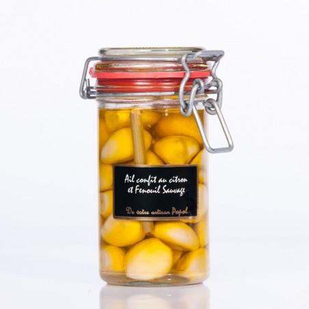 Ail confit Citron-Fenouil 140 g